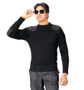 Military Commando Sweaters - Close View