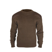 Brown Commando Field Sweater - Full View