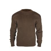 Brown Commando Field Sweater - Full View