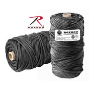 Rothco Nylon Paracord 550LB - 300FT Tube - Black