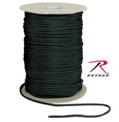 Black Nylon Paracord 550lb 1000 Ft Spool