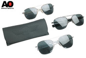 American Optics Genuine 57mm Aviator Sunglasses