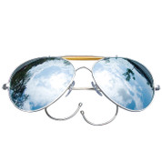 Mirror Aviator Air Force Style Sunglasses