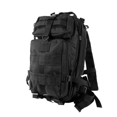 Black Medium Transport Pack - Left Angle View