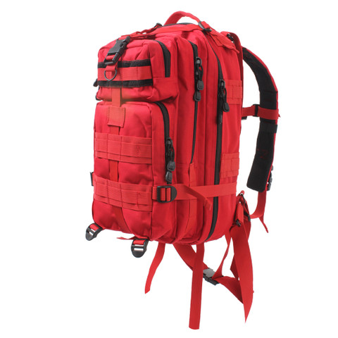 Red Medium Transport Pack - Front View