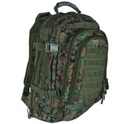 Tactical Duty Pack - Woodland Digital Camo