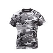 Urban City Camouflage T Shirt - Front View