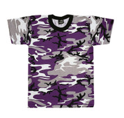 Purple Camo T Shirt