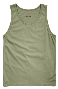 Olive Drab Tank Top - View