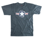 Vintage Army Air Corp T Shirt - Blue