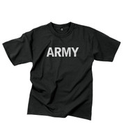 Physical Training Reflective Grey PT Army T Shirt
