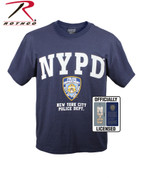 Officially Licensed NYPD T Shirt - View