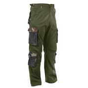 Vintage Kenya Accent Paratrooper Fatigues - Angle View