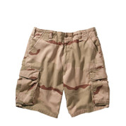 Vintage Desert Cargo Fatigue Military Shorts