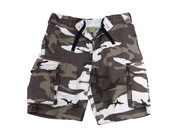 Vintage Urban Camo Fatigue Shorts - View