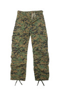 Vintage Woodland Digital Camo Paratrooper Fatigues