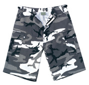 Ultra Force Urban Camo Long BDU Shorts