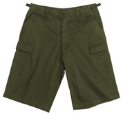 Ultra Force Olive Drab Longer BDU Shorts