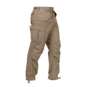 Vintage Style M 65 Khaki Field Pants - Right Side View