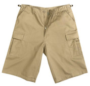 Ultra Force Khaki Long BDU Shorts