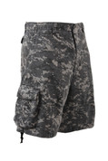 Vintage Subdued Urban Digital Infantry Short - View