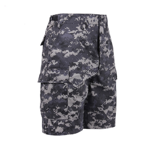 Subdued Urban Digital BDU Military Short - Right Side View