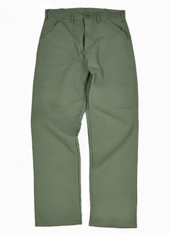 Basic Four Pocket Fatigue Pants - View