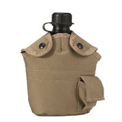 G.I.Type Enhanced Nylon Khaki 1 Qt Canteen Cover
