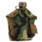 Enhanced Camo Nylon 1qt. Canteen Cover - View