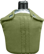 G.I. Style Aluminum Canteen & Cover Combo