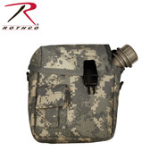 ACU Digital Camo 2 Qt. Badder Canteen Cover - Rothco View