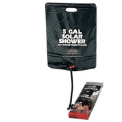 Five Gallon Solar Camp Shower - View