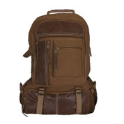 Vintage Brown Retro Cantabrian Excursion Backpack - View