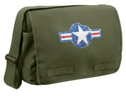Classic Army Air Corps Messenger Bag - Olive Drab
