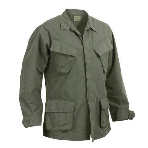 Vintage Vietnam Era O.D. Ripstop Jungle Jacket