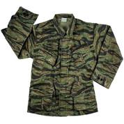 Vintage Vietnam Style Tigerstripe Jungle Jacket - Full View