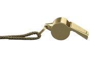 Brass G.I.Style Police Whistle
