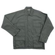 Olive Drab Ripstop Cotton BDU Fatigue Jacket - View