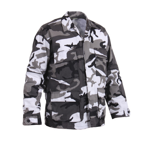 Urban Camo BDU Fatigue Jackets - Right Side View