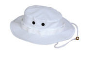 White Outdoor Boonie Hat - View