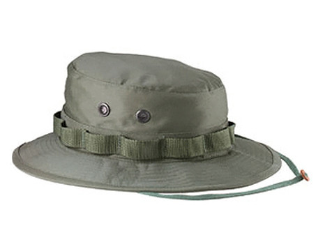 Olive Drab Military Boonie Hat - View