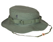 Olive Drab Ripstop Cotton Military Boonie Hats - Full View