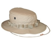 Khaki Ripstop Cotton Military Boonie Hats - Full View