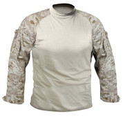 Desert Digital Camo Combat Shirt - Full View