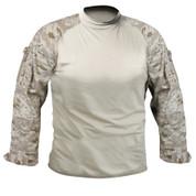 Desert Digital Camo Combat Shirt - Full View