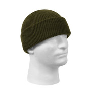 Olive Drab Wool Watch Cap - View