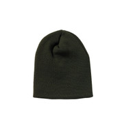 Deluxe Olive Drab Knit Skull Cap - View