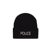 Embroidered Police Watch Cap - View