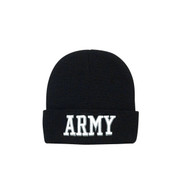 Deluxe Embroidered ARMY Watch Cap - View