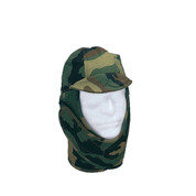 Woodland Camo Cold Weather Helmet Liner - View